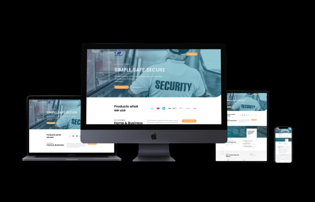 web design for CCTV company